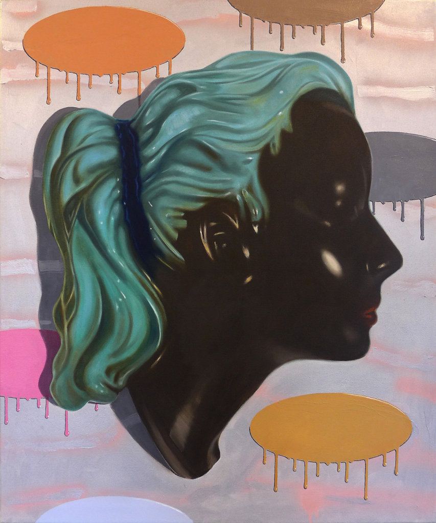 Dark Love, 2016, 100 x 90 cm