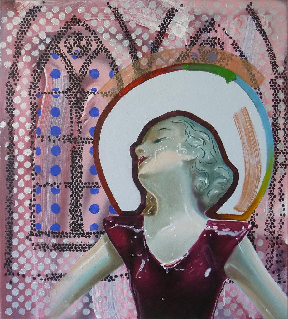 Gotik, 2012, 100 x 90 cm