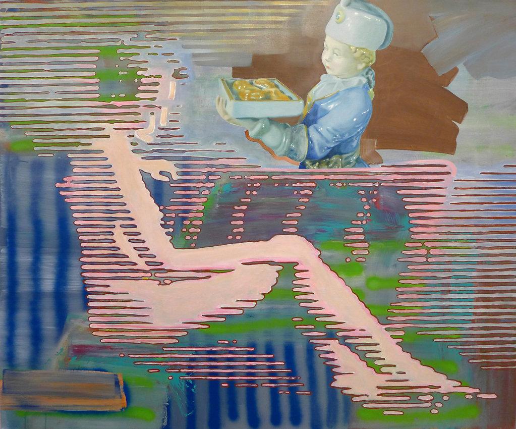 Konfekt, 2013, 150 x 180 cm