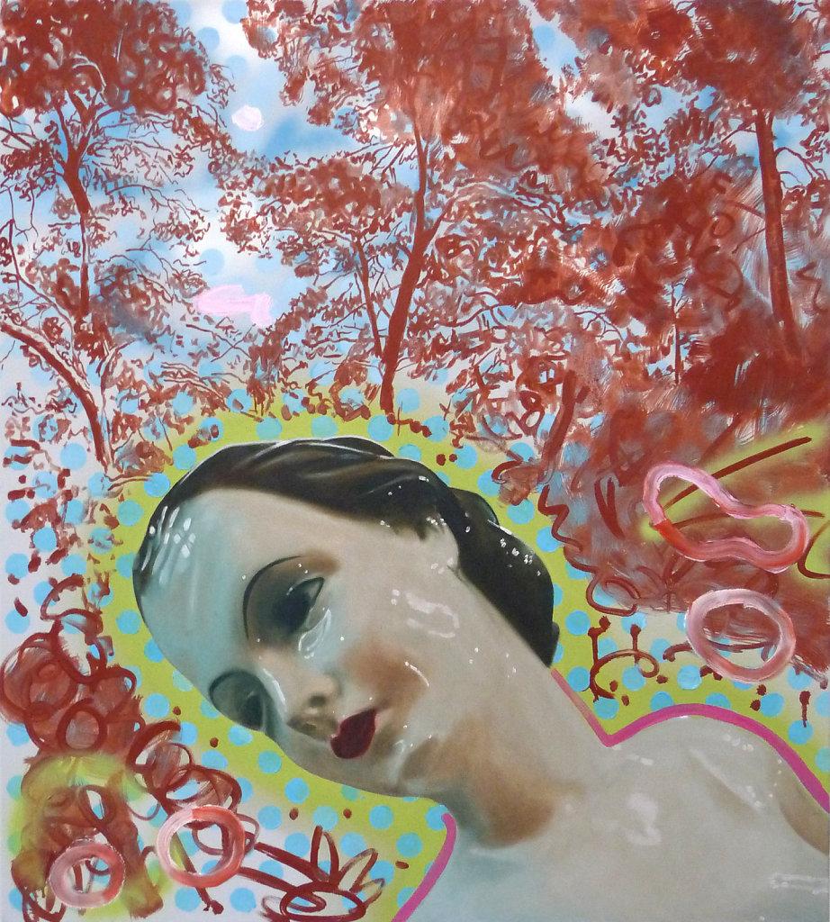Rosemarie und Thymian, 2009, 100 x 90 cm