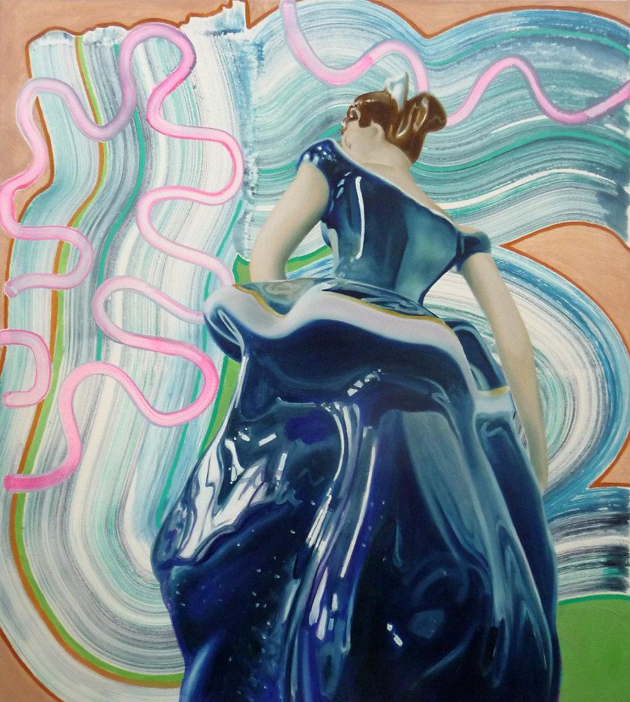 Scarlett O´Hara, 2012, 100 x 90 cm