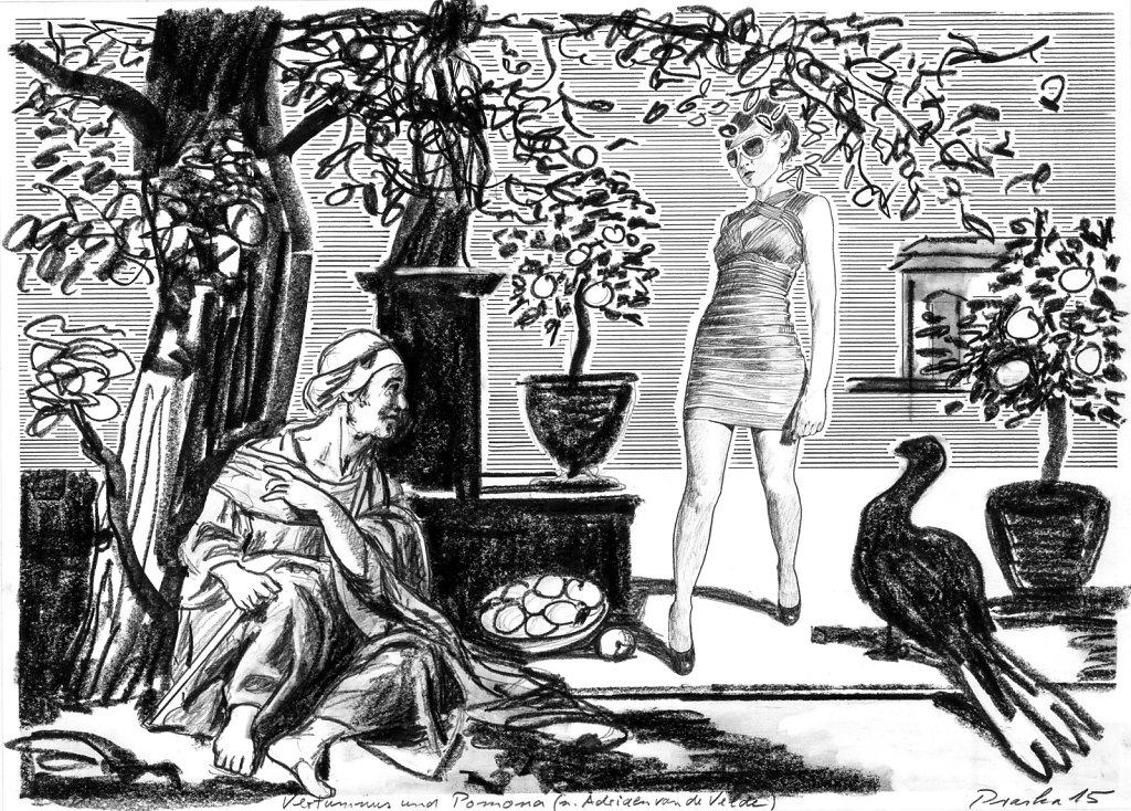 Vertumnus und Pomon