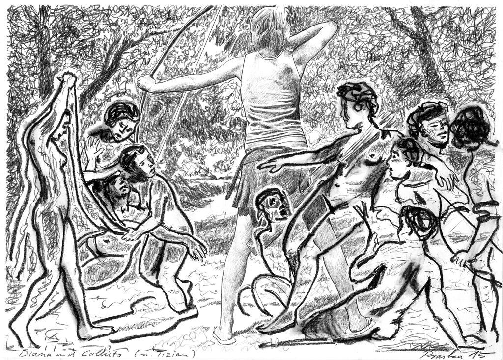 Diana mit Callisto