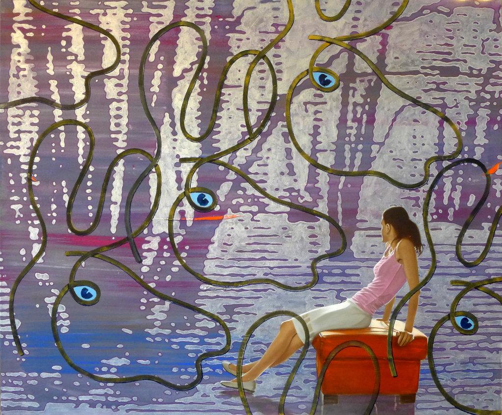 Elche, 2016, 120 x 145 cm