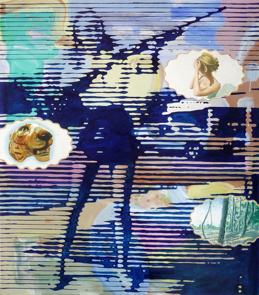Argument 1 der Waffenlobby, 2010, 160 x 140 cm