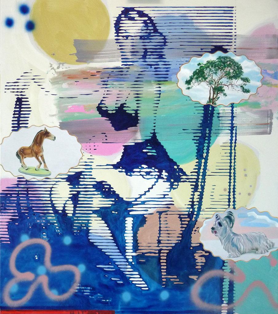 Argument 2 der Waffenlobby, 2010, 160 x 140 cm