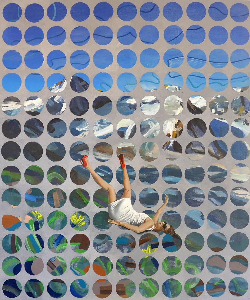 Ötztal, 2015, 100 x 90 cm
