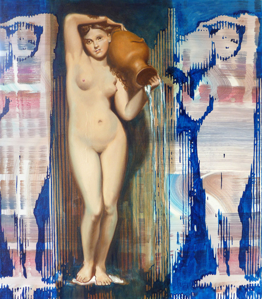 Frommer Applaus (Ingres), 2015/17, 120 x 150 cm
