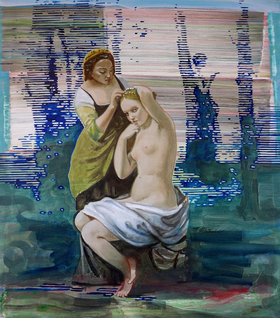 La Toilette (Corot), 2013, 100 x 80 cm
