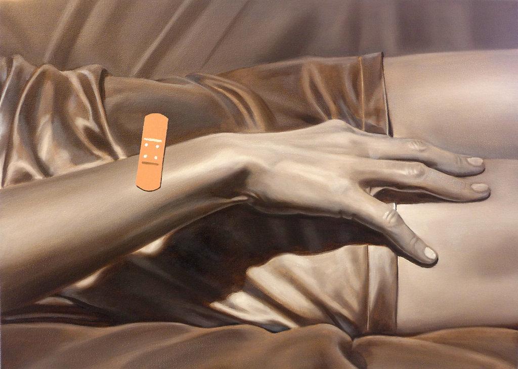 Fast makellos, 2017, 50 x 70 cm