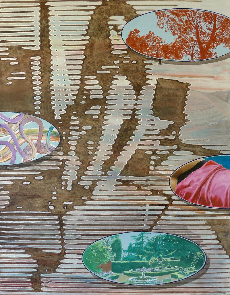 Atelier naturel II, 2015, 90 x 70 cm