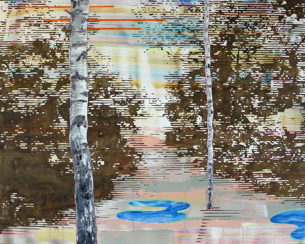 Immigrants (Ambivalence), 2017, 120 x 150 cm