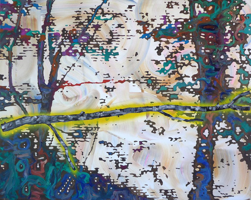 Ast, 2016, 120 x 150 cm
