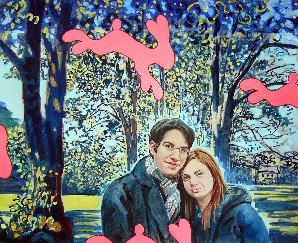 Paar im Park, 2006