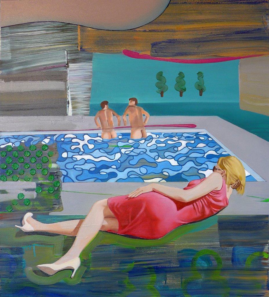 Hockneys Pool, 2017 cm