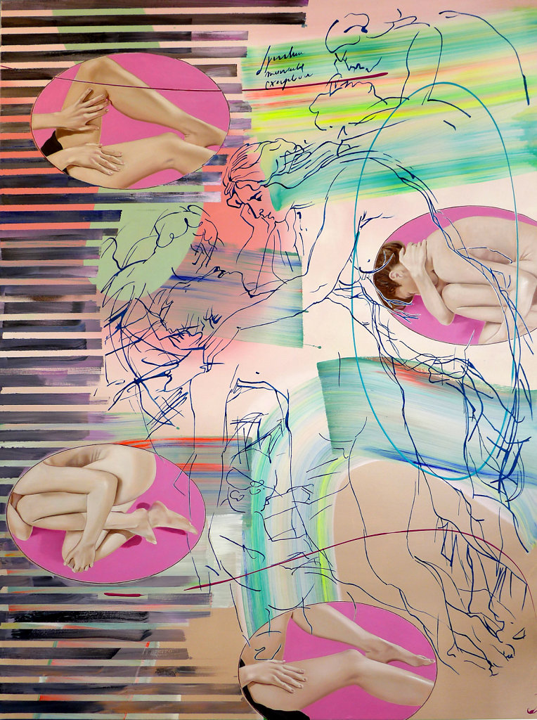 Beweinung Christi (Rubens) 2018, 200 x 150 cm