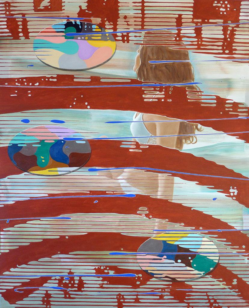 The Guggenheim III, 2015, 150 x 120 cm