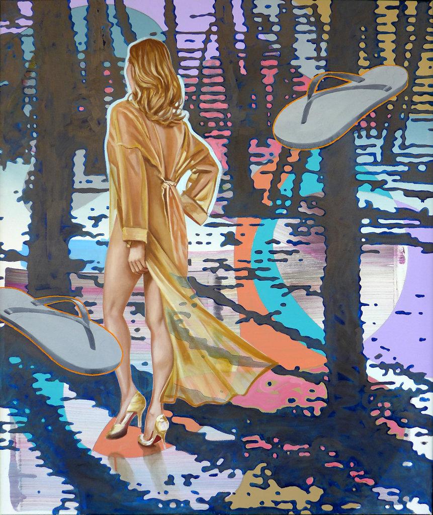 High Heels and Flip Flops in the Woods
